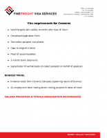 Comores Visa Requirements