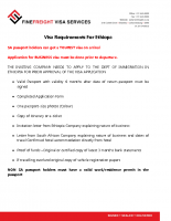Ethiopa Visa Requirements