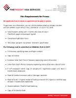 France Visa Requirements