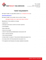 Turkey Visa Requirments